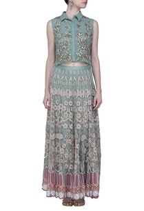 teal-sequined-crop-top-with-floral-embroidered-maxi-skirt