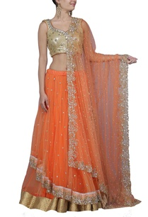 orange-ombre-and-gold-embroidered-lehenga