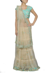 beige-embroidered-sari-with-sky-blue-choli