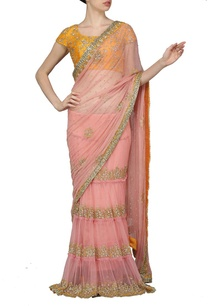 rose-pink-embellished-sari-with-haldi-yellow-choli