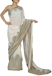 ivory-and-rose-gold-embroidered-sari