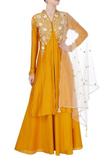 yellow-lehenga-set