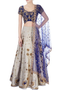 blue-grey-floral-embellished-lehenga