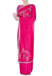 pink-white-embellished-sari