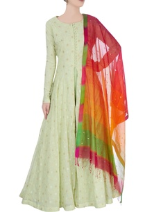 lime-green-anarkali-with-floral-embroidery
