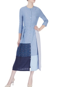 sky-blue-panelled-midi-dress