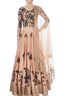 black-beige-thread-embroidered-lehenga
