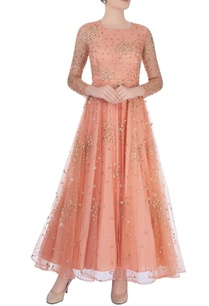 peach-anarkali-with-glitter-embroidery