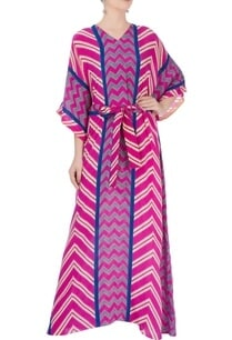 pink-blue-kaftan-with-tie-up-detailing