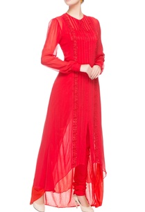 red-panel-high-low-tunic