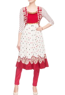 red-frock-style-tunic