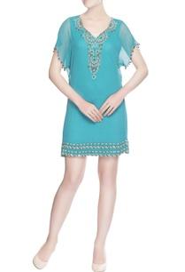 sky-blue-bead-work-designed-tunic