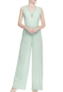 light-green-embroidered-jumpsuit