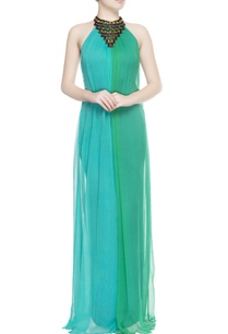 turquoise-blue-green-gown