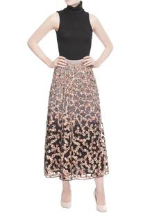 grey-black-shaded-skirt
