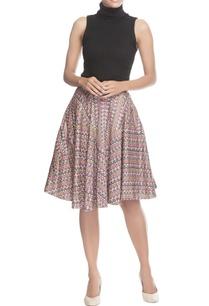 blue-pink-printed-mid-skirt