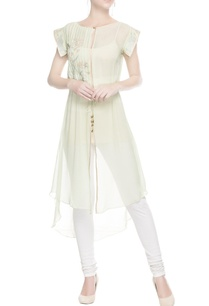 pastel-green-embroidered-kurta-with-drawstrings