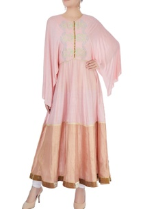 pink-peach-flared-tunic