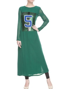 green-sequin-patchwork-tunic