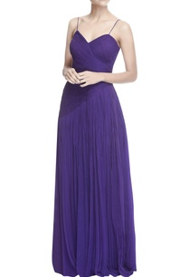 purple-pleated-gown