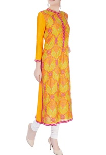 orange-mughal-jaal-work-tunic