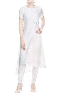 light-blue-white-wrap-kurta