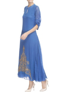 blue-a-line-shirt-maxi-tunic