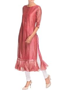 pink-ruffle-style-kurta