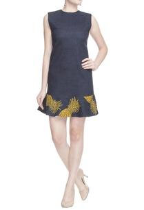 dark-denim-blue-pineapple-dress