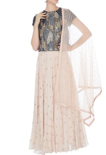 blue-peach-embellished-lehenga-set