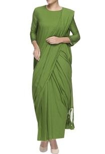 green-bohemian-concept-sari