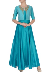 blue-embroidered-anarkali-jacket