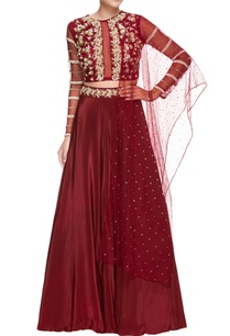 wine-crepe-silk-embroidered-lehenga