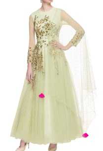 light-green-net-flared-anarkali