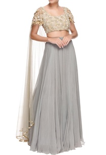 grey-lehenga-sequin-embroidered-blouse