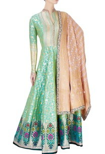 green-gold-brocade-anarkali