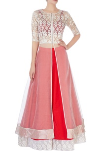red-lehenga-with-embroidered-border