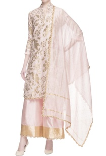 light-pink-gota-work-kurta-set