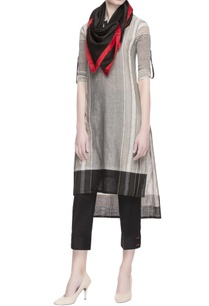 grey-stripe-pattern-kurta