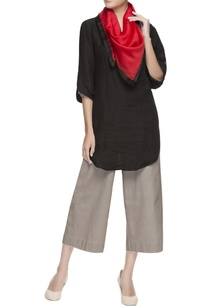black-high-low-cotton-tunic