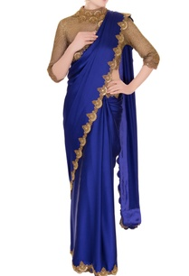 blue-satin-saree-with-zardozi-cutwork-blouse