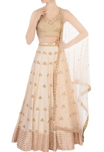 ivory-embroidered-work-lehenga-set
