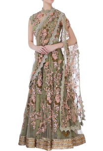 green-anarkali-with-attached-dupatta