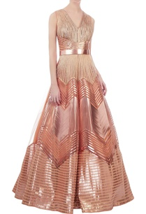 rose-gold-recycled-polymer-structural-ball-gown