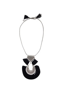 black-tasseled-matinee-necklace