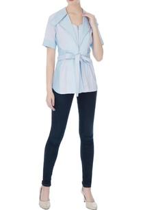 sky-blue-cotton-satin-zipper-detail-blouse