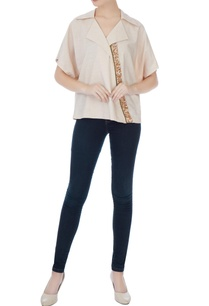 beige-poly-cotton-sequin-embellished-blouse