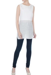 white-cotton-linen-long-blouse-with-sequins