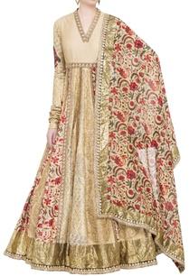 beige-chanderi-sequin-embellished-kurta