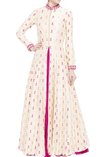white-moroccan-printed-jacket-with-silk-anarkali